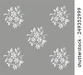vector illustration of gray... | Shutterstock .eps vector #249352999