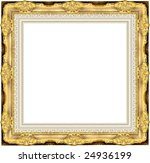 a picture frame on a white | Shutterstock . vector #24936199