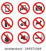 no stop sign | Shutterstock .eps vector #249371569