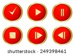 Web Red Buttons