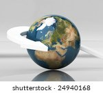 around the world | Shutterstock . vector #24940168