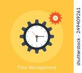time management | Shutterstock .eps vector #249409261