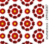 pattern background flower with...