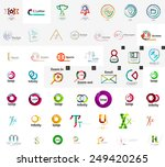 logo mega collection  abstract... | Shutterstock .eps vector #249420265