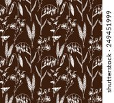 vector seamless pattern with... | Shutterstock .eps vector #249451999