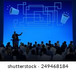 communication connection... | Shutterstock . vector #249468184