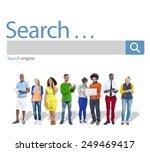search seo online internet...   Shutterstock . vector #249469417