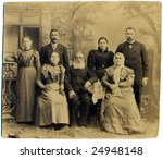 Russian Vintage Family Portrai...