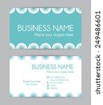 modern business card. flat...