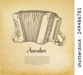 accordion vector illustration | Shutterstock .eps vector #249486781