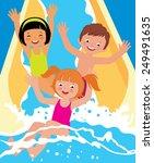 stock vector cartoon... | Shutterstock .eps vector #249491635