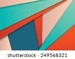 illustration of unusual modern... | Shutterstock .eps vector #249568321