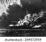 Explosion Of The Uss Shaw's...