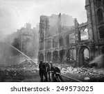 Fire Fighting During Ww2 Battl...