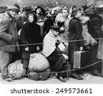 german displaced persons wait... | Shutterstock . vector #249573661