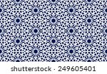abstract seamless pattern in... | Shutterstock .eps vector #249605401