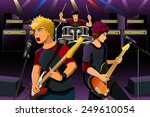 a vector illustration of group... | Shutterstock .eps vector #249610054