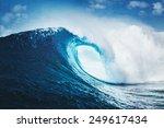 Blue Ocean Wave  Epic Surf