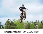 plunge lithuania may 11... | Shutterstock . vector #249622459