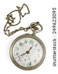 vintage pocket watch | Shutterstock . vector #249623095