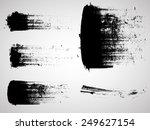 vector grunge logo design... | Shutterstock .eps vector #249627154