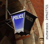 Old Police Station Sign...