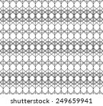 black and white geometric... | Shutterstock .eps vector #249659941