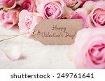 romantic valentine's day   Shutterstock . vector #249761641