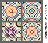 Abstract Geometric Tile For...