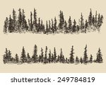 contours of the mountains with... | Shutterstock .eps vector #249784819