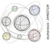 grafic illustration of outer...   Shutterstock .eps vector #249837139