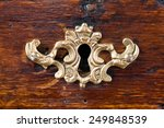 antique keyhole | Shutterstock . vector #249848539