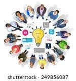 ideas inspiration creativity... | Shutterstock . vector #249856087