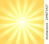 sun rays background | Shutterstock .eps vector #249871927