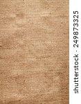 burlap background | Shutterstock . vector #249873325