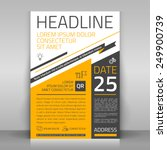 business flyer design  broshure ... | Shutterstock .eps vector #249900739