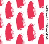 seamless pink grunge brush... | Shutterstock .eps vector #249901891