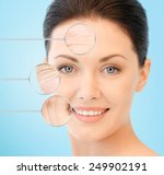 people  skin care and beauty... | Shutterstock . vector #249902191