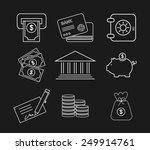 money concept design  vector...   Shutterstock .eps vector #249914761