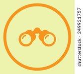 binoculars vector icon | Shutterstock .eps vector #249921757