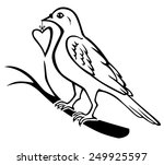 raster illustrations of contour ... | Shutterstock . vector #249925597