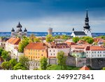 view of the old town. tallinn ... | Shutterstock . vector #249927841