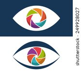 camera lens design  vector... | Shutterstock .eps vector #249928027