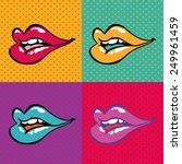 pop art design  vector... | Shutterstock .eps vector #249961459