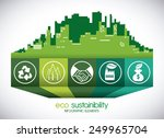 eco sustainibility design ... | Shutterstock .eps vector #249965704
