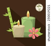 spa therapy  design  vector... | Shutterstock .eps vector #250019221