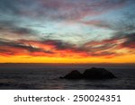 Sunset At Seal Rocks  San...