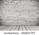 room interior vintage with... | Shutterstock . vector #250031797
