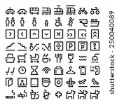 wayfinding signs   icons pack