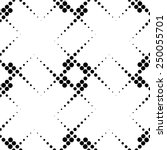 black and white geometric... | Shutterstock .eps vector #250055701